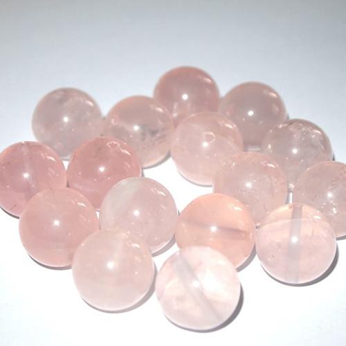 Křišťál / růženín kuličky  16 mm (cena 1ks)