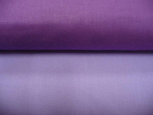 100 % bavlna vo fialových odtieňoch