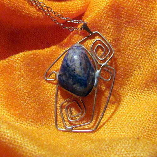 Náhrdelník - modrý Lapis-Lazuli