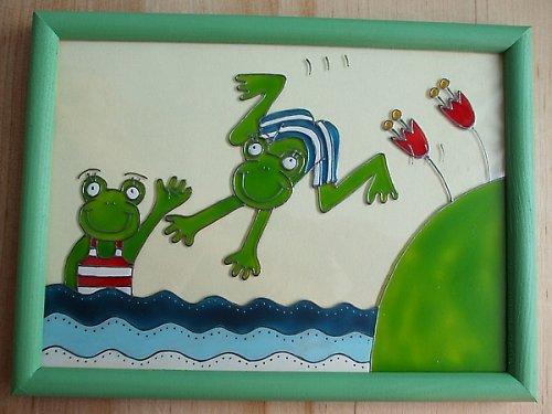 Žabky ve vodě