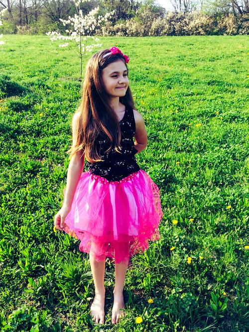 Tylová sukně - dětská