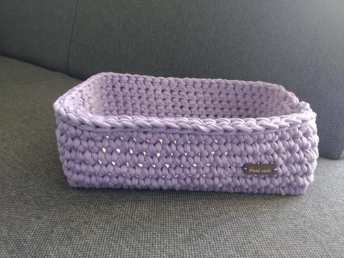 Košík fialový