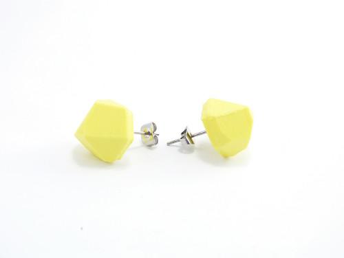 Náušnice krystal sulfur yellow