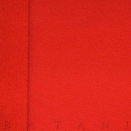 Teplákovina elastická červená
