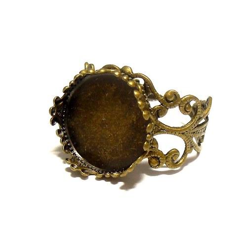 Prsten starobronz