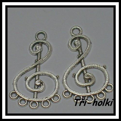 Ramínko houslový klíč