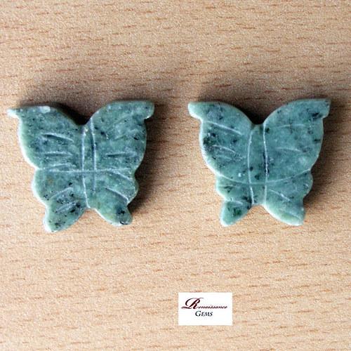 Mramoroví motýlci (pár)