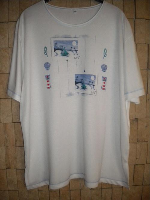 letní tričko z úpletu
