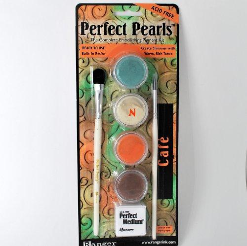 Sada Perfect Pearls pudrů / Café
