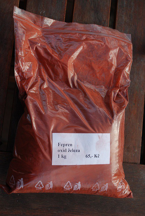 Fepren - oxid železa