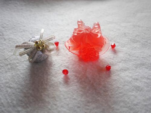 MÝDLO : ZVONEČKY S VŮNÍ ČAJOVÁ RŮŽE - červená