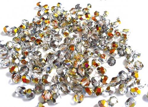 Broušená kulička krystal marea 5mm