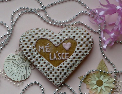 """Valentinské srdce \""""Mé lásce\"""""""