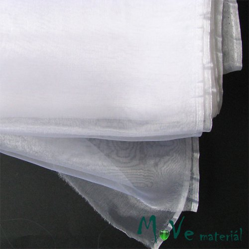 Organza bílá 140cm/ 20 cm