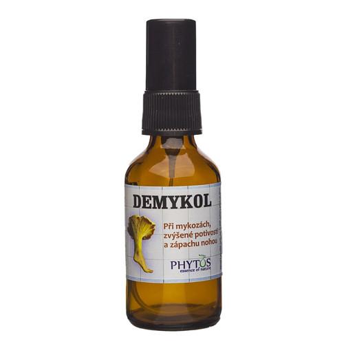 Demykol - při mykozách,zápachu a pocení nohou