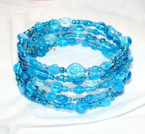 náramek modrá laguna