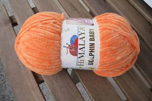 Dolphin Baby 80316 oranžová
