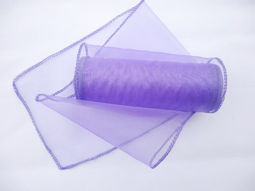 Organza stuha fialová