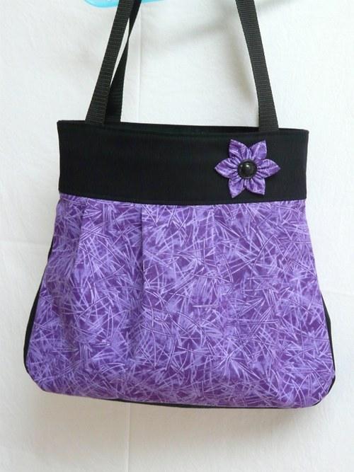 Kabelka jehličí - fialová