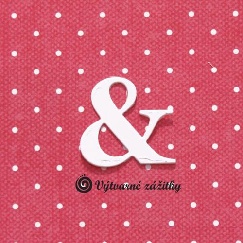 Symbol &  (ampersand) - malý