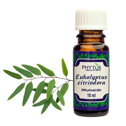Eukalyptus citriodora - 100% esenciální olej 10ml
