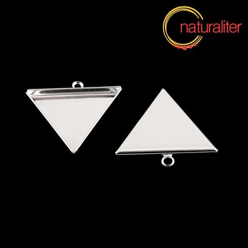 Lůžko trojúhelník 25mm postříbřené