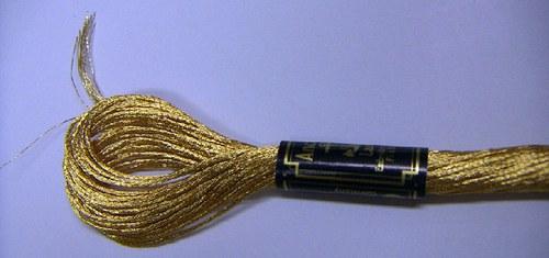 Anchor Lamé - zlatá světlá