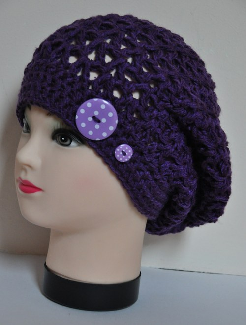 Dívčí čepička - baret