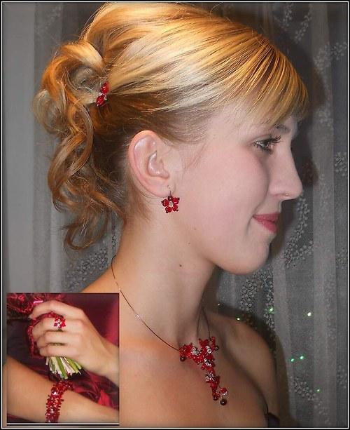 červené pohlazení - korunka