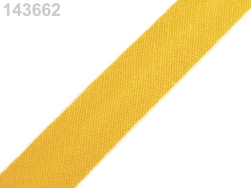 Šikmý proužek 14 mm zažehlený (5m) - Daffodil