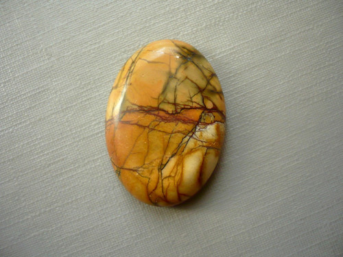 Kabošon - jaspis picasso 25 mm, č.6