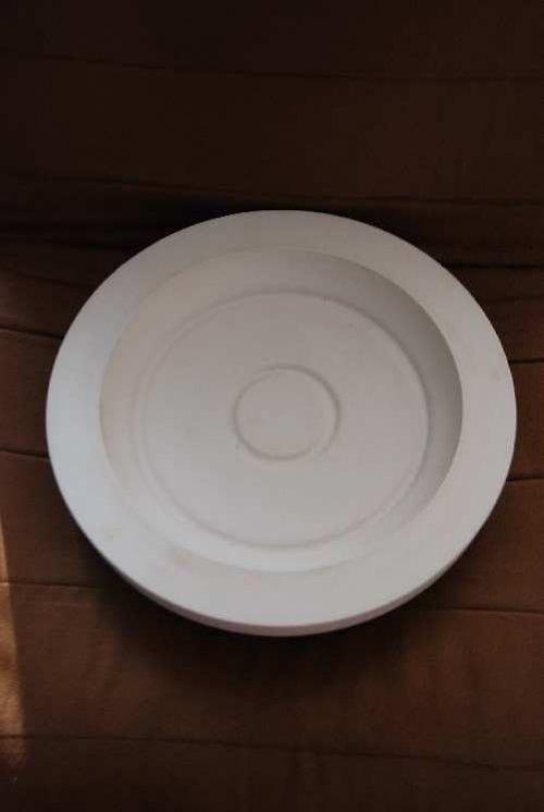 Sádrová forma na talíř