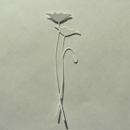 Papírový výsek - tulipány