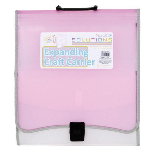 Organizér - taška na scrapbook a blahopřání růžová