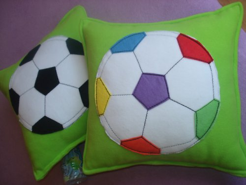 Polštářky fotbal