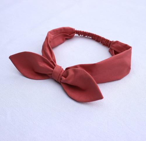 Čelenka pin-up staro-ružová
