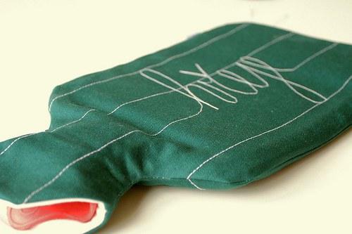 Hřeje zelený - termofor do postele