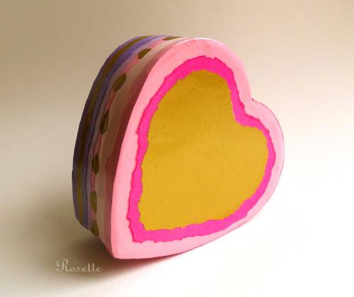 Rozechvělé srdce ... - krabička