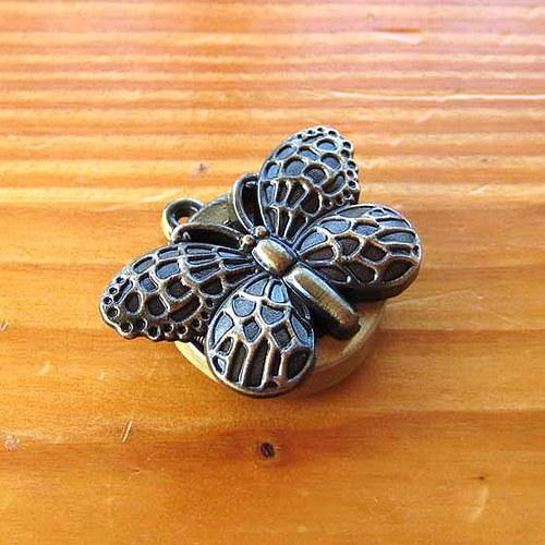 Kapesní Hodniky - Motýlek - Bronzové