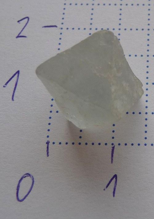 Fluorit - krystal