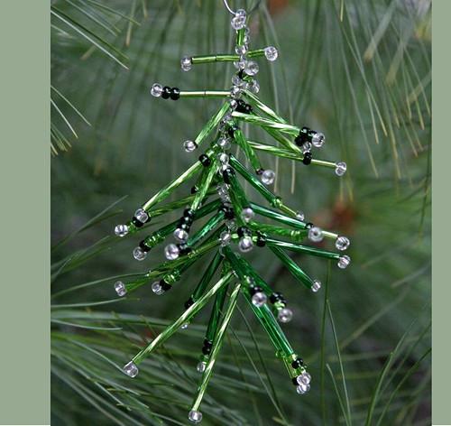 Vánoční ozdoba - stromeček Vo-OZ 017