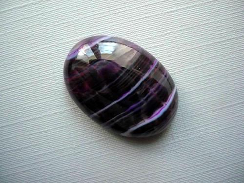 Kabošon - achát 25 mm, č.95w