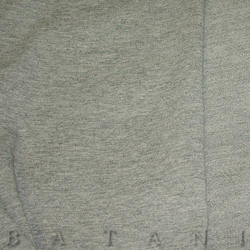 Teplákovina elastická šedý melír