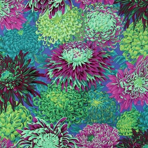 Japonské chryzantémy zelené, Philip Jacobs