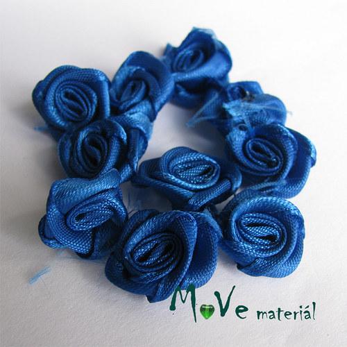 Růžička saténová zářivě zářivě modrá Ø15mm, 10kusů