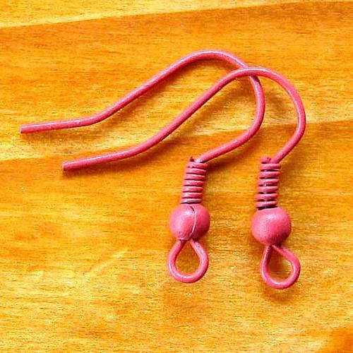 Afroháčky - 10ks - Růžové