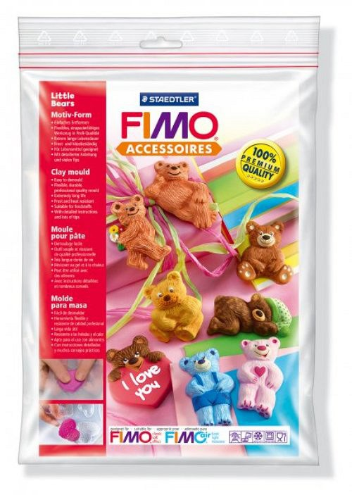 Formy na Fimo / silikonové / Medvídci