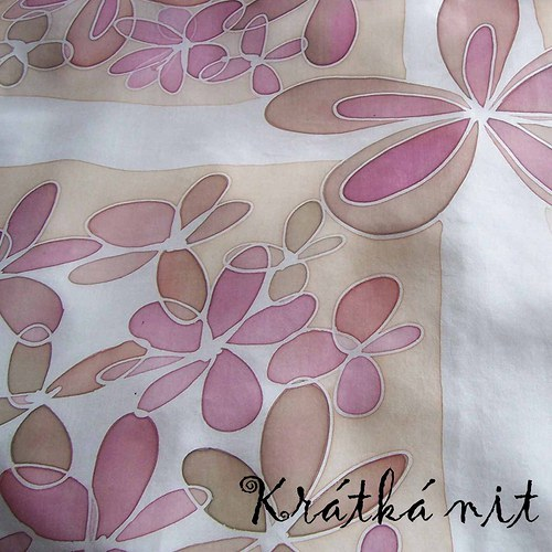 Květovaný šátek V.