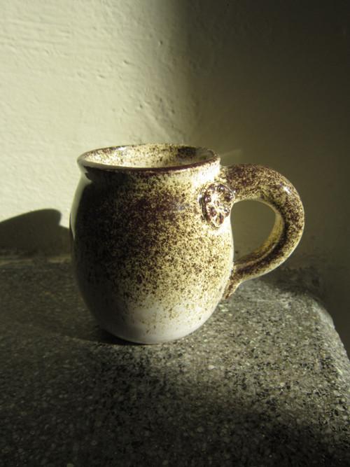 Rozkvetlé kafíčko - hrníček