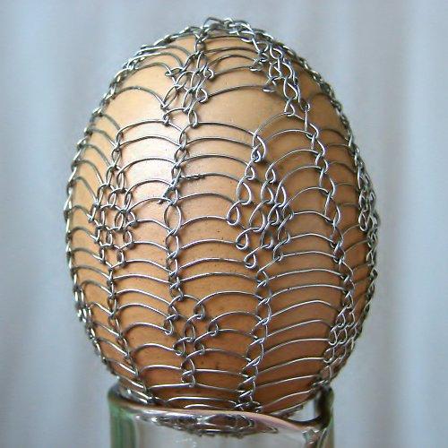 Netradičně zdobené vajíčko